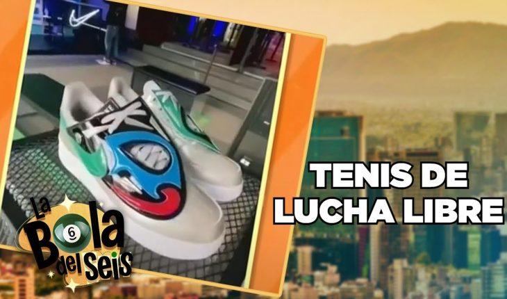 Lanzan tenis inspirados en la lucha libre   La Bola del 6