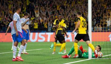 Young Boys sorprendió en Champions y derrotó 2-1 al United de Cristiano Ronaldo