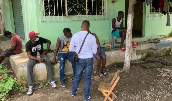 cómo viven los haitianos en Tapachula