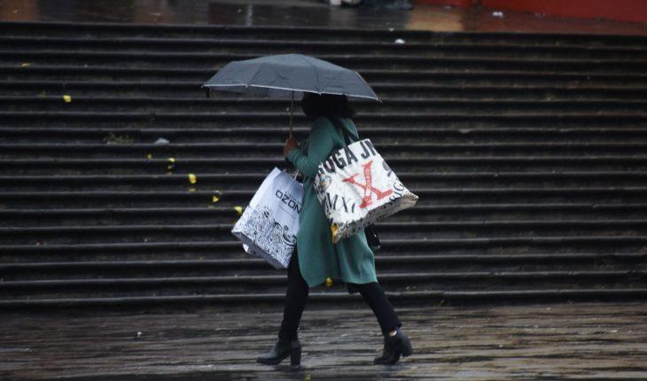 primer frente frío de la temporada provocará lluvias y granizo