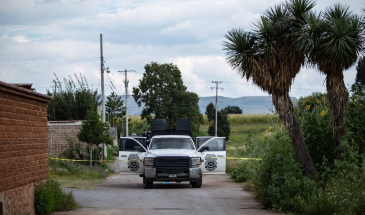 10 bodies found in a building in Machines, Zacatecas