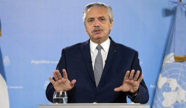 "Alberto Fernández defined the IMF loan as ""deudicide"""