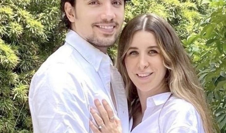 Alex Fernandez and his wife Alexia Hernandez will be parents