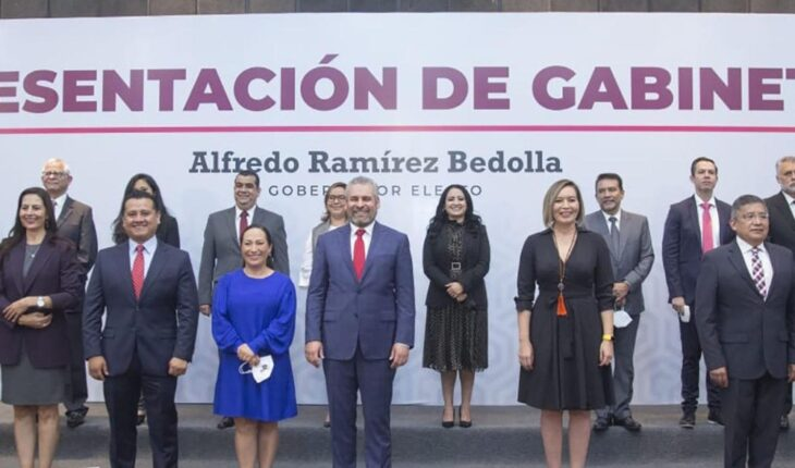 Alfredo Ramírez presents his Legal Cabinet in Michoacán