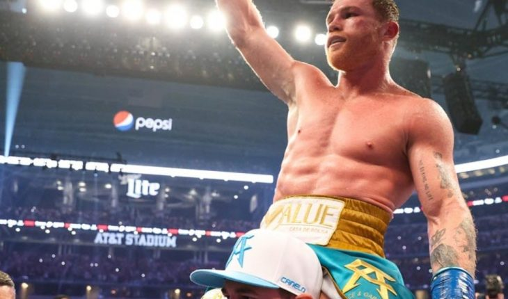 Canelo Alvarez warns Plant that he speaks in the ring