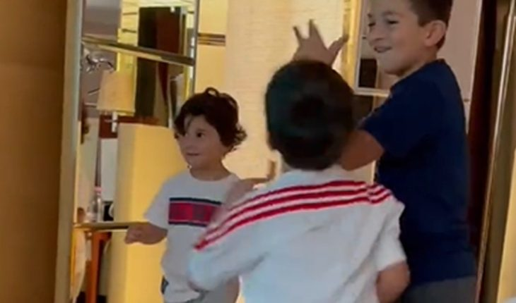 Dance and pogo: Messi's children, to the rhythm of the new session of Biza and MHD