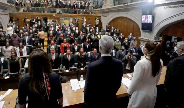 Del Mazo asks legislature to promote agenda for RECOVERY BY COVID