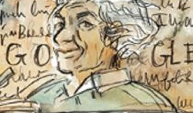 """Google pays tribute with a """"doodle"""" to Nicanor Parra in his birth"""