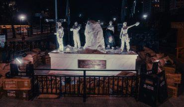 """Netflix's tribute to the fallen in """"La Casa de Papel"""", in the heart of Palermo"""
