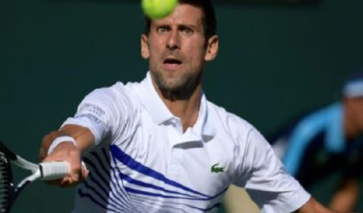 Novak Djokovic stepped down from the Indian Wells Masters 1000