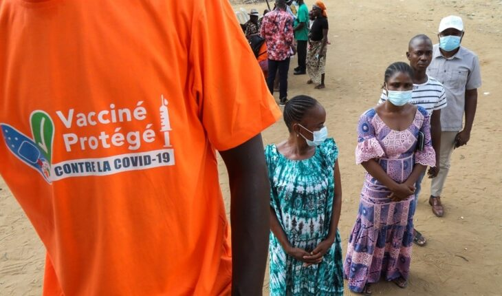 Only 15 countries in Africa managed to vaccinate 10% of their population