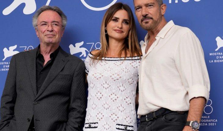 Oscar Martínez, Penélope Cruz and Antonio Banderas showed off at the Venice Film Festival