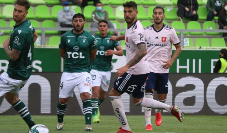 The U lost to Wanderers 2-1 in Valparaiso