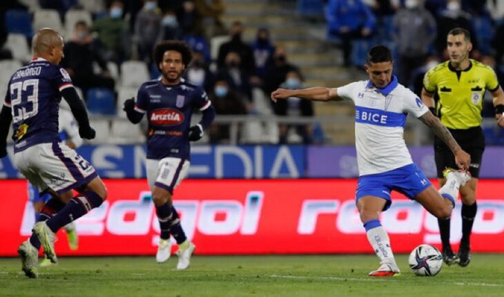 UC thrashed Melipilla 4-0 and continues to hunt for Colo Colo