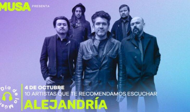 Alejandría estuvo en UPG — Rock&Pop
