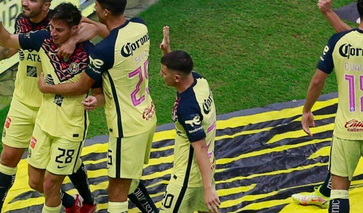 América derrotó a Pumas por 2-0 en el Estadio Azteca