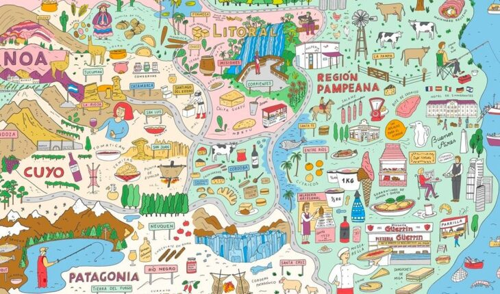"""""""Argentina at the table"""", a virtual google trip through the country's gastronomic culture"""