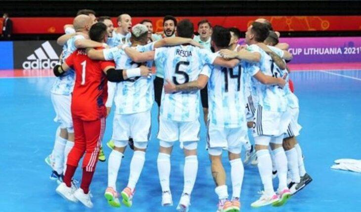 Argentina vs. Portugal, final del mundo en futsal: horario y TV