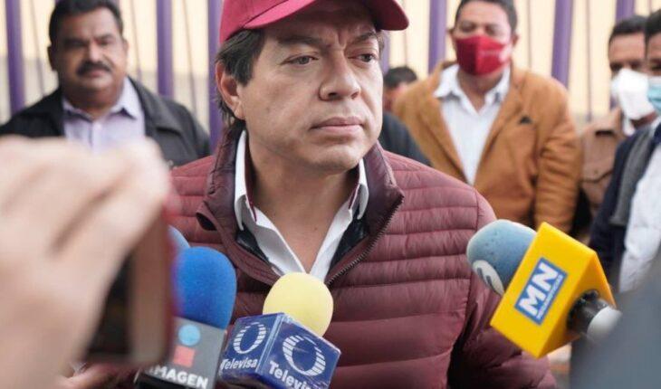 Arremeten contra Mario Delgado por publicación del 68