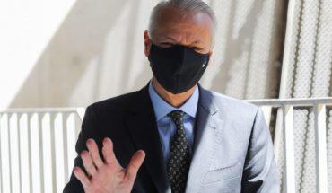 Castrilli culpó a jugador de Santiago Wanderers por la expulsión de Zampedri