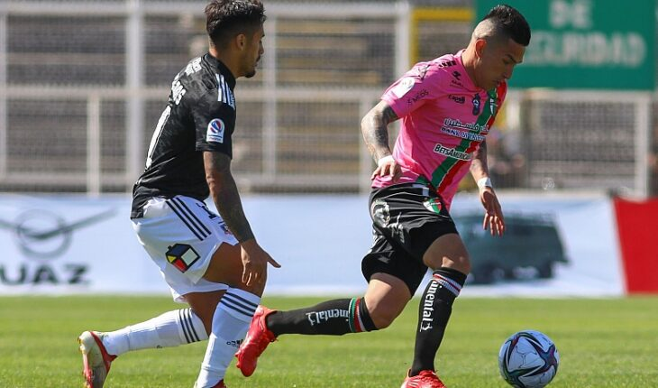 Colo Colo se mantiene puntero tras vencer de visita a Palestino en La Cisterna