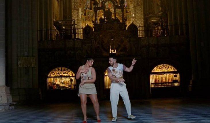 Deán de catedral de Toledo dejará su cargo tras polémica por video de C.Tangana y Nathy Peluso