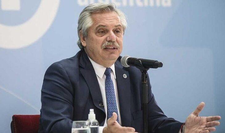 El presidente Alberto Fernández encabeza una reunión de gabinete