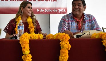 Félix Salgado, Moreno operator who grants positions in the government of his daughter