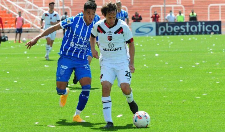 Godoy Cruz 2 - Newells 2, el Tomba consiguió el empate de local