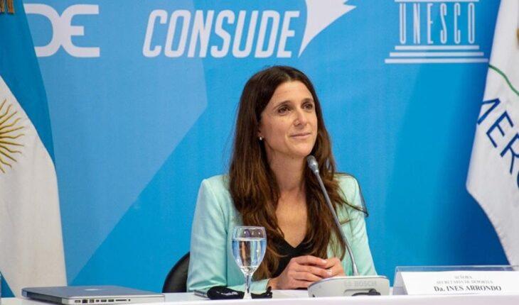 Inés Arrondo became the first president of ENARD