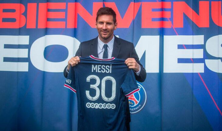 Messi sufre su primera derrota en el PSG