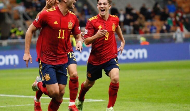 Nations League: España le cortó el invicto de 37 partidos a Italia y es finalista