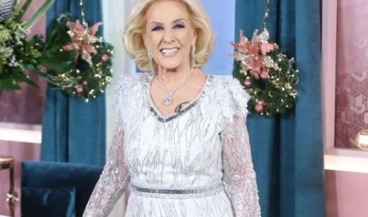 """New medical part: Mirtha Legrand """"continues to evolve favorably"""""""