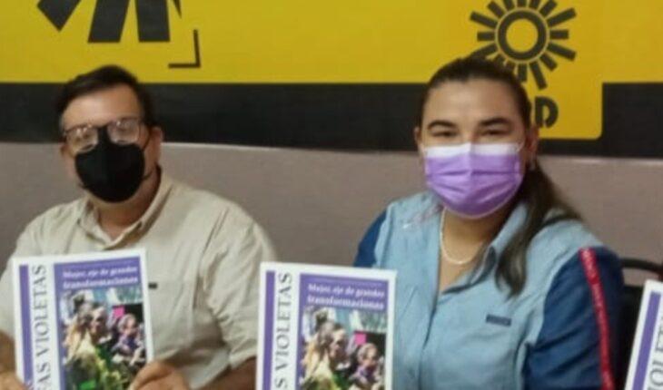 Presenta PRD revista en apoyo al feminismo activo de Sinaloa