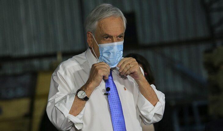 """Presidente Piñera: """"Aquí algunos están dispuestos a destruir nuestro país con tal de ganar un voto"""""""