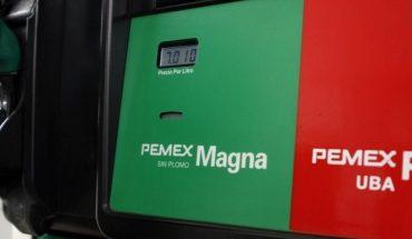 Rebounds to 24 pesos per liter of premium gasoline in Culiacán