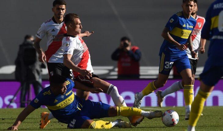 River le gana a Boca con un golazo de Julián Álvarez