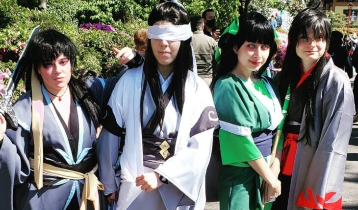 The Day of Manga and Anime took over the Japanese Garden last weekend