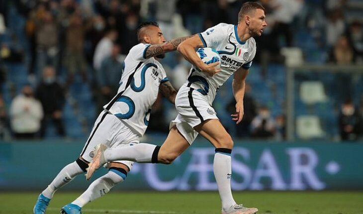 Vidal fue clave en remontada del Inter ante el Sassuolo