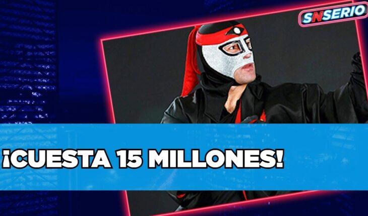 ¡Apostar su máscara cuesta 15 millones!   SNSerio