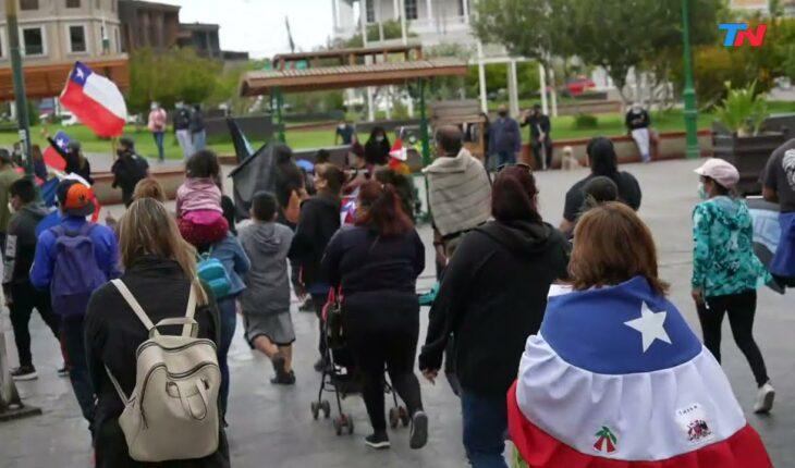 Crisis migratoria y manifestaciones en Chile