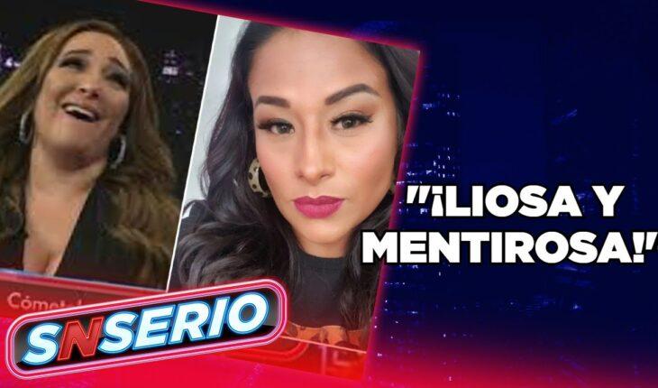 Myriam Montemayor llama 'liosa y mentirosa' a Toñita | SNSerio