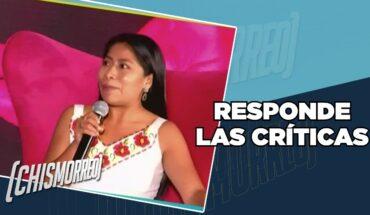 Responde a críticas y a la 'falsa inclusión'   El Chismorreo