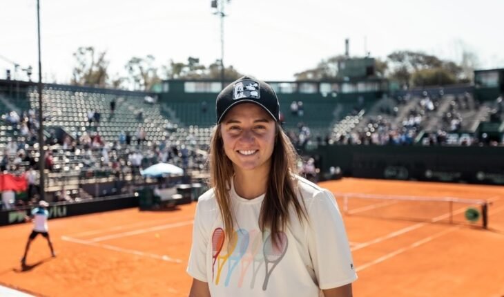 With Nadia Podoroska, the qualifiers for the Argentina Open were confirmed