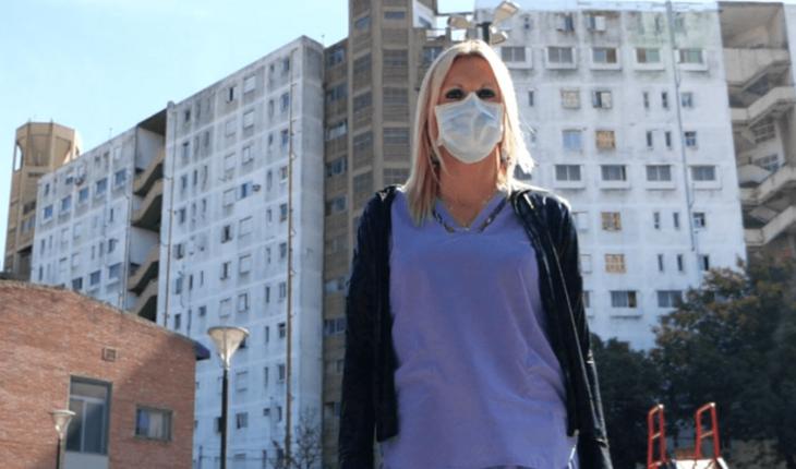 Celina Esteban, the first trans woman to head a health center in CABA